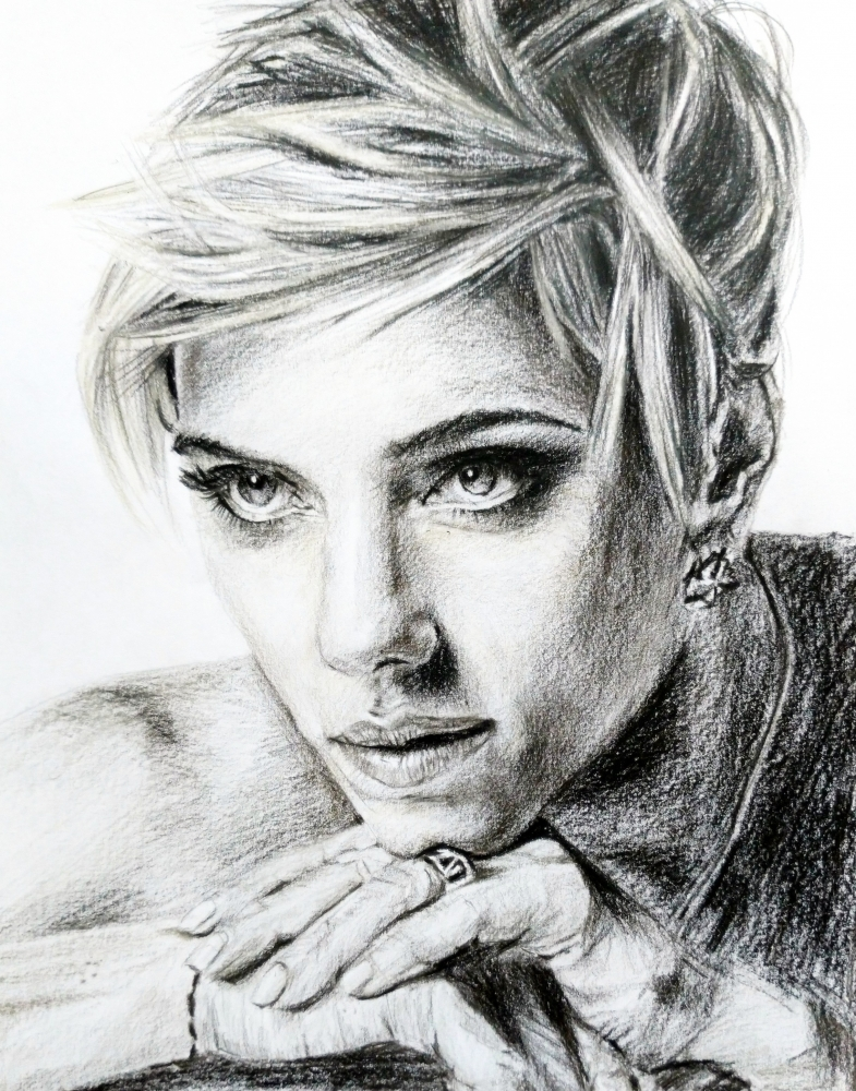 Scarlett Johansson par linshyhchyang